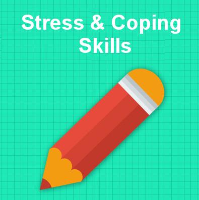 Stress & coping skills tile
