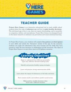 PHG Teacher Guide